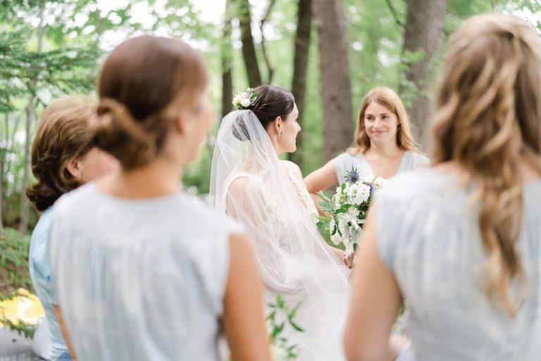 Bridal Party at a New Hampshire Wedding